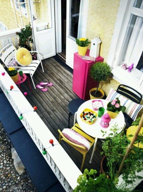 décoration pour balcon