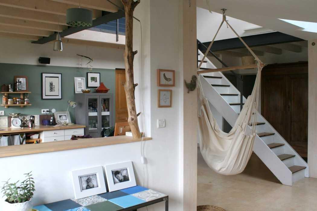 visite priv e et interview chez c line du blog bazarette une hirondelle dans les tiroirs. Black Bedroom Furniture Sets. Home Design Ideas