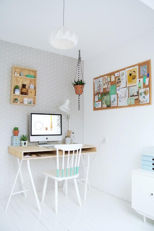 idu00e9e : un bureau sur tru00e9teaux, 12 inspirations et une selection ...