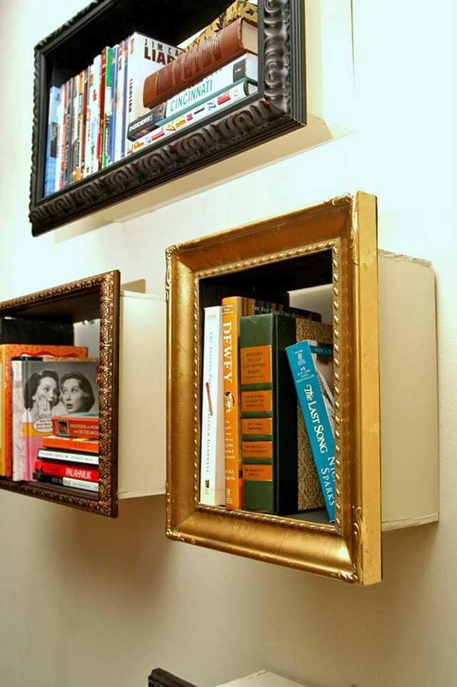 une bibliothèque originale : 15 idées de bibliothèques déco | Une ...