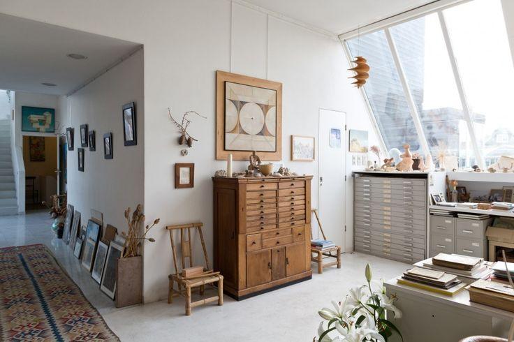 Atelier d 39 artiste la d coration d 39 une centenaire - Style atelier d artiste ...