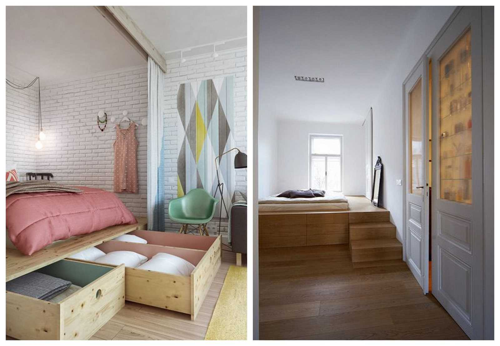 Chambre Estrade Ikea : Idée déco une estrade pour structurer et délimiter l