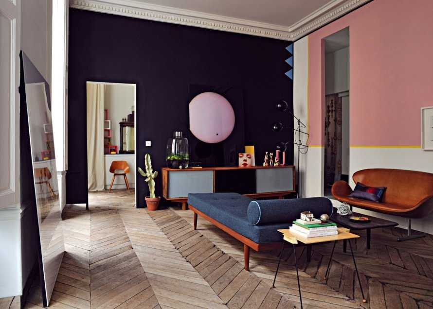la d coration haute en couleurs du sc nographe jean. Black Bedroom Furniture Sets. Home Design Ideas