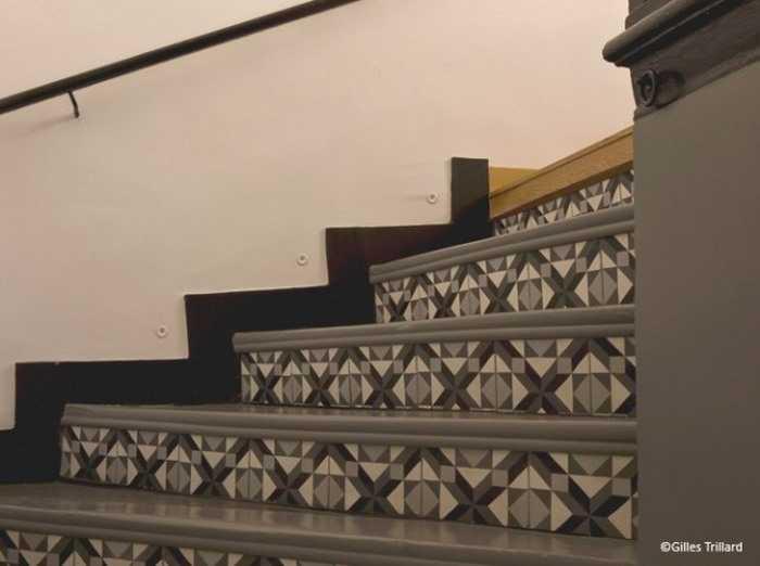carreaux de ciment 17 id es d co originales une hirondelle dans les tiroirs. Black Bedroom Furniture Sets. Home Design Ideas
