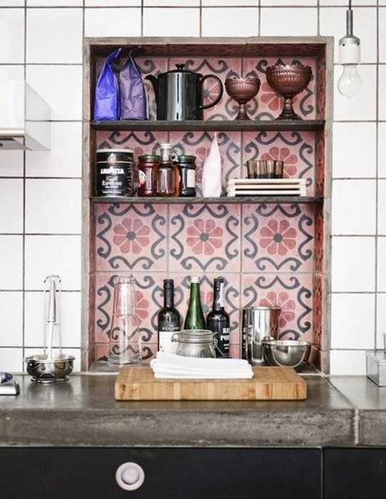 Carreaux de ciment 17 id es d co originales une for Carreaux muraux cuisine