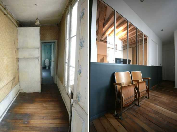 Avant apr s r novation d 39 un appartement par julie - Renovation maison ancienne avant apres ...