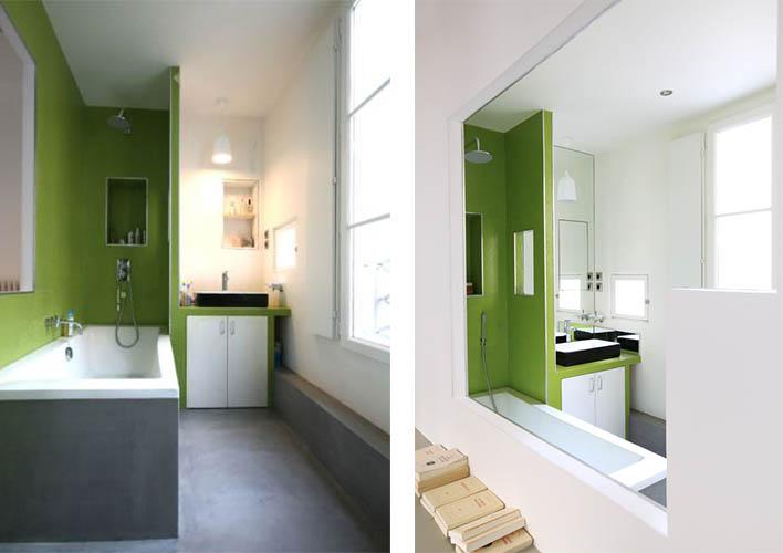 avant apr s r novation d 39 un appartement par julie alazard une hirondelle dans les tiroirs. Black Bedroom Furniture Sets. Home Design Ideas