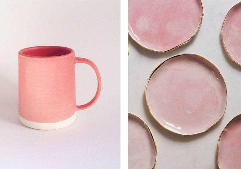 Le Rose Dans La Deco : Une décoration rose idées pour introduire le