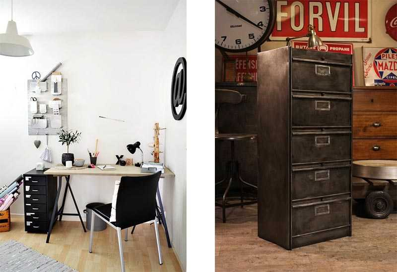 rangement du bureau 9 solutions d co pour ranger son. Black Bedroom Furniture Sets. Home Design Ideas