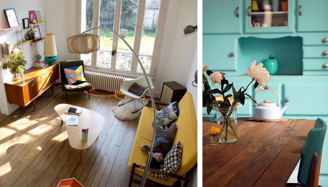 chez c line du blog la malle aux tr sors visite priv e et interview une hirondelle dans les. Black Bedroom Furniture Sets. Home Design Ideas