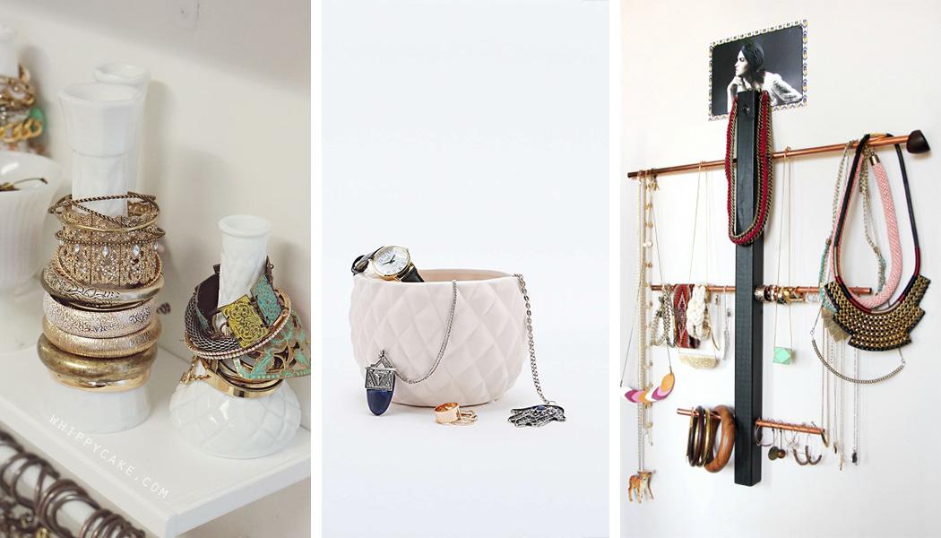 10 id es pour ranger ses bijoux une hirondelle dans les tiroirs. Black Bedroom Furniture Sets. Home Design Ideas