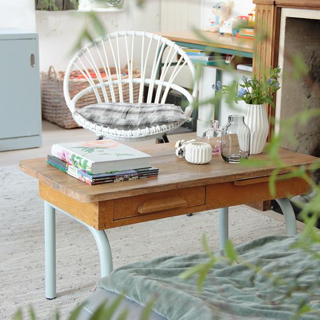 chez emilie du blog polig m visite priv e et interview une hirondelle dans les tiroirs. Black Bedroom Furniture Sets. Home Design Ideas