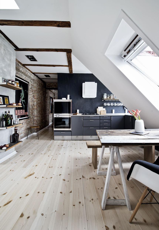 appartement sous les combles 5 | Une hirondelle dans les tiroirs