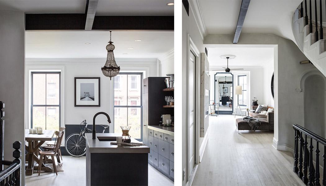 Un appartement new yorkais clinton hills une hirondelle dans les tiroirs - Appartement new york achat ...