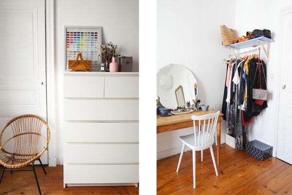 Cama eu de blanc et cr me pour un appartement doux et chaleureux une hirondelle dans les tiroirs for Decoration chambre camaieu orange