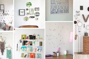 10 idées originales pour décorer ses murs
