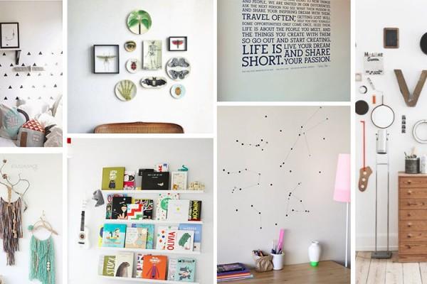 idees originales decorer murs
