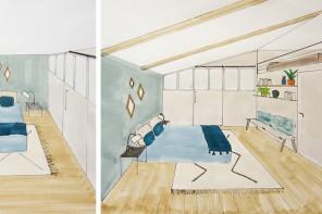 projet : la décoration d'une maisonnette d'invités