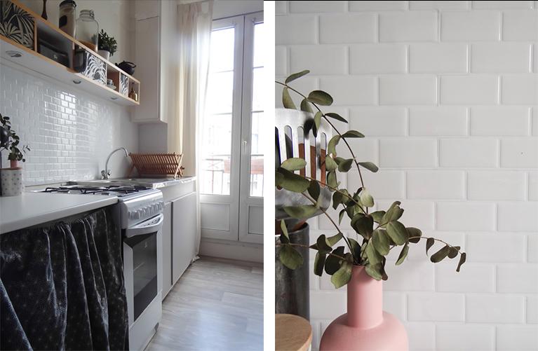 Une nouvelle cr dence dans la cuisine une hirondelle - Credences cuisine nouvelles tendances ...