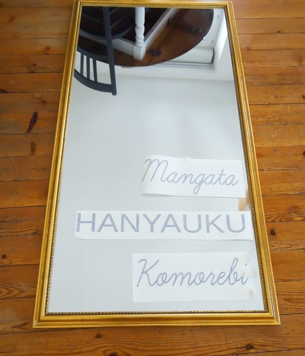 diy ecrire sur miroir 4 une hirondelle dans les tiroirs