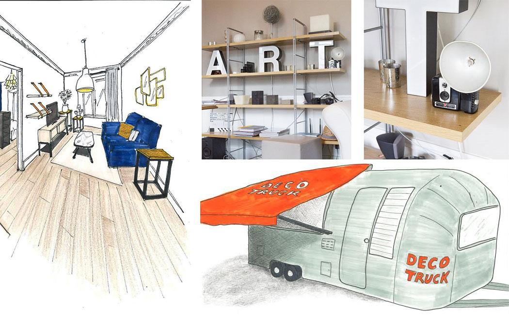 Id e un bureau sur tr teaux 12 inspirations et une for Deco idee concours