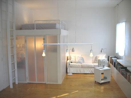 Coin Chambre Dans Le Salon : 40 Idées Pour Laménager Une Hirondelle Da.