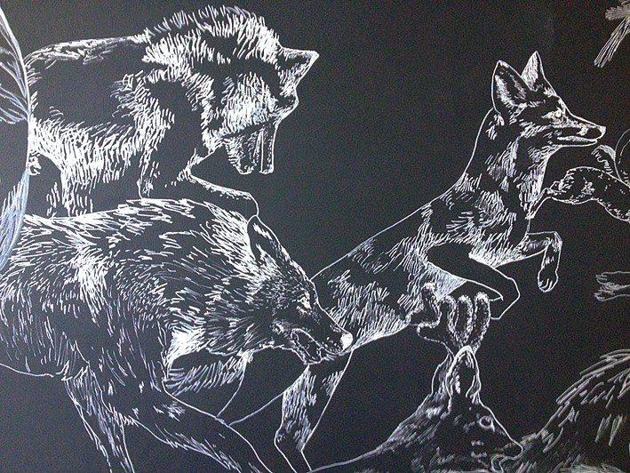 fresque murale deco 11