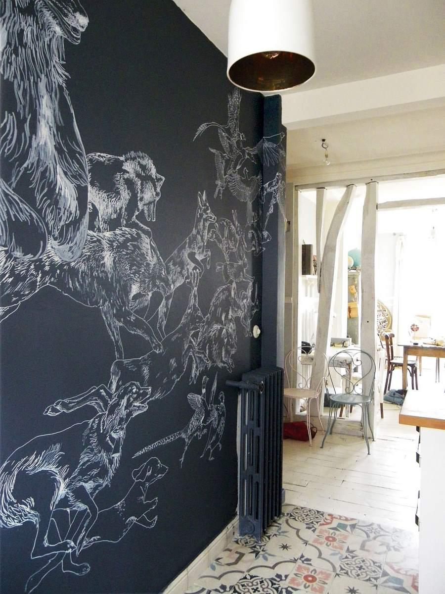 les fresques murales de caddous alvarez une hirondelle
