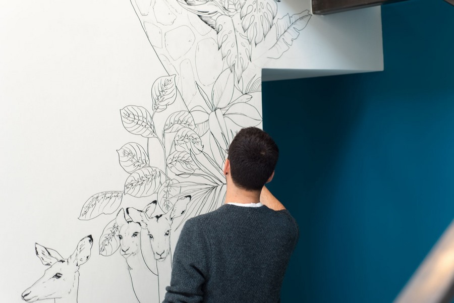 fresque murale deco 26