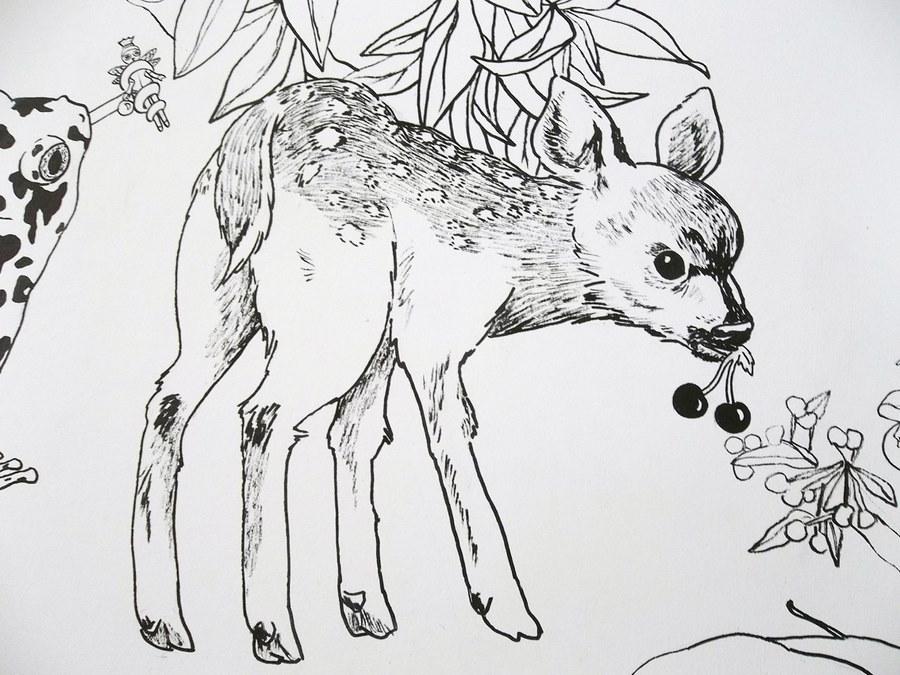 fresque murale deco 4