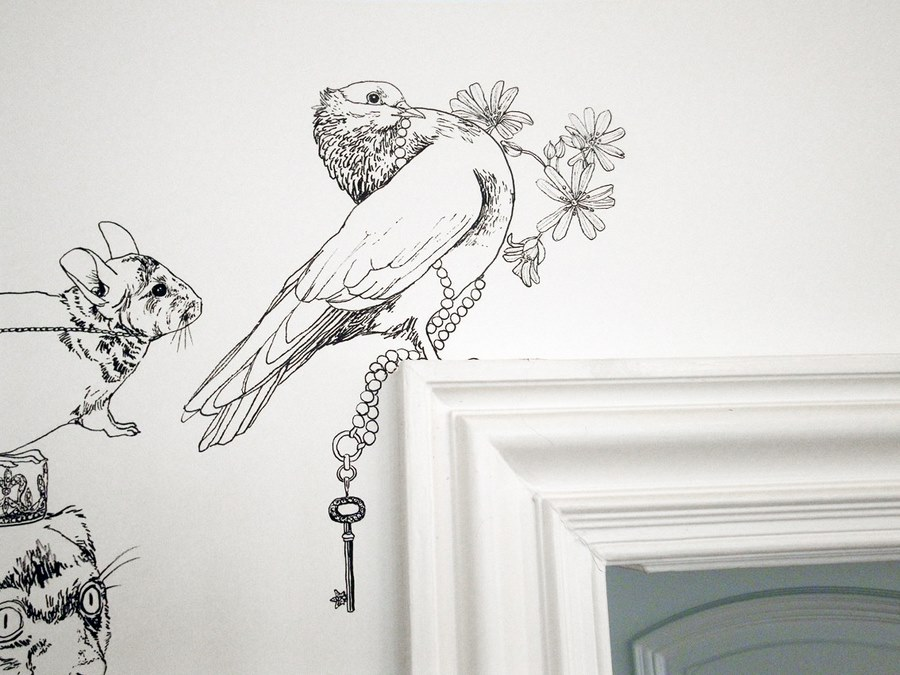 fresque murale deco 8