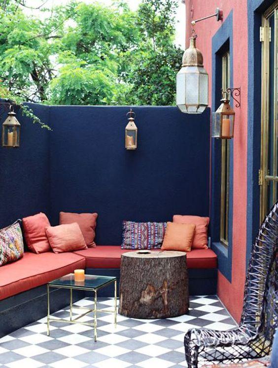 Tendance le rondin de bois dans la d co une hirondelle - Les plus belles terrasses ...
