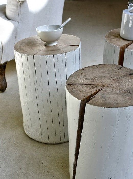 tendance le rondin de bois dans la d233co Une hirondelle  : rondin bois deco9 from www.unehirondelledanslestiroirs.fr size 520 x 699 jpeg 60kB