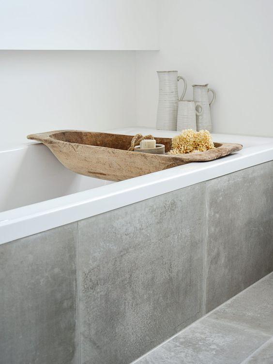 beton-cire-salle-de-bain-idees_17 | Une hirondelle dans les tiroirs