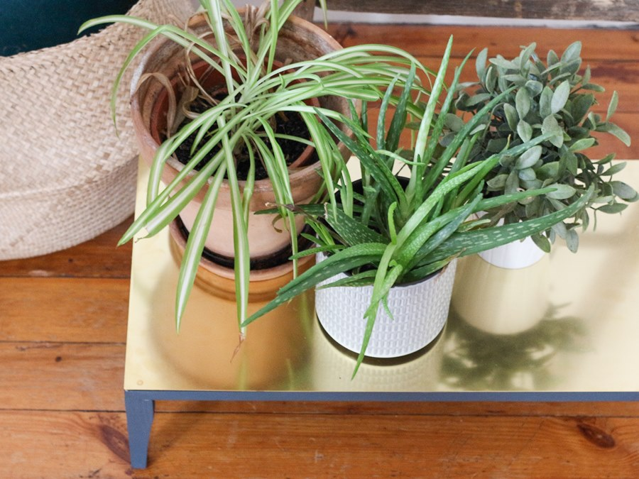 DIY laiton porte plantes 1