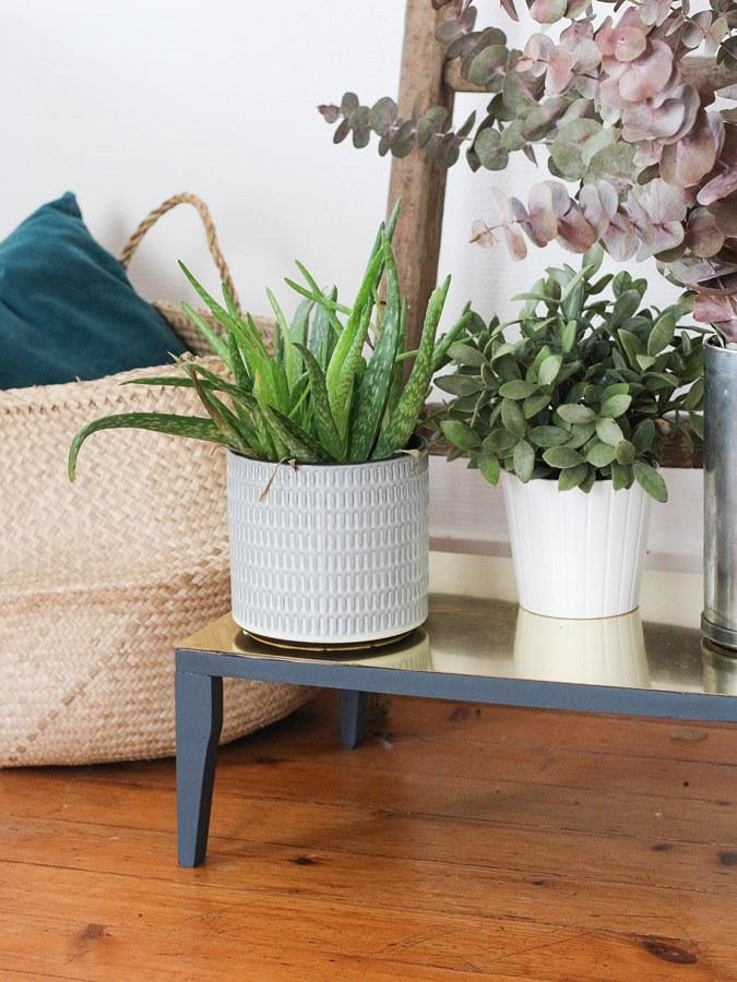 DIY laiton porte plantes 11