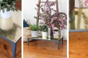 DIY : un porte plante en laiton