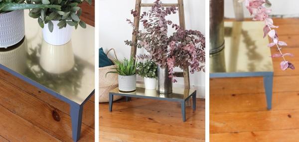 DIY laiton porte plantes