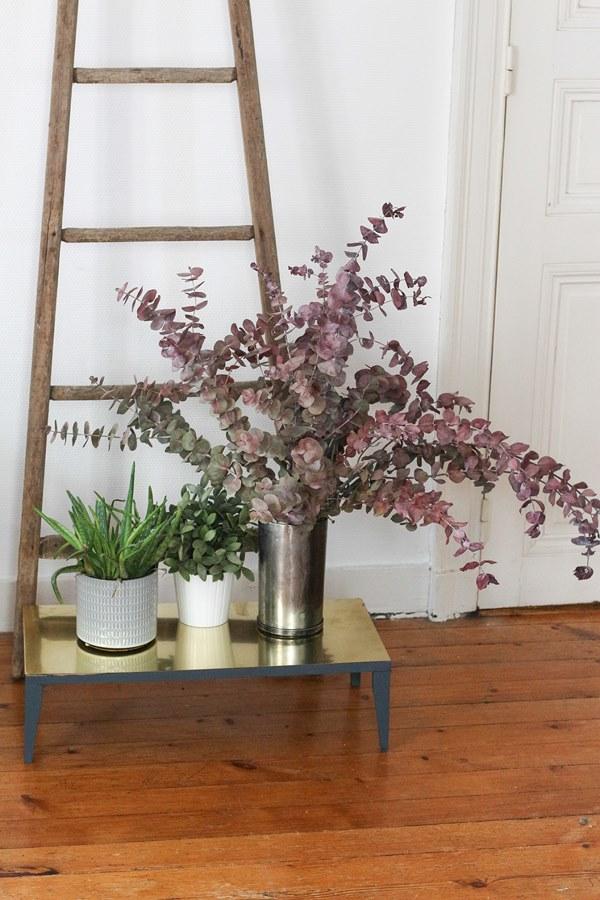 DIY laiton porte plantes 9