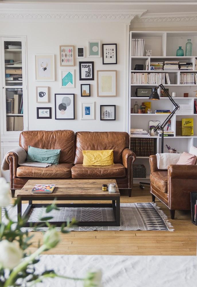 Decoration vintage appartement 13 une hirondelle dans for Appartement deco diy