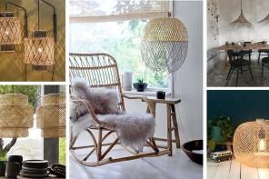 une lampe tressée : 8 idées pour illuminer votre intérieur