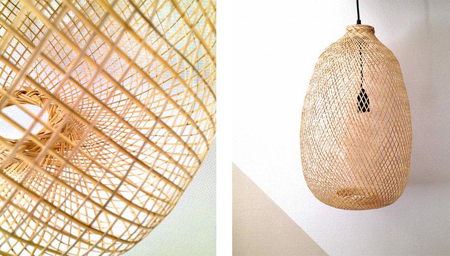 une lampe tress e 8 id es pour illuminer votre int rieur. Black Bedroom Furniture Sets. Home Design Ideas