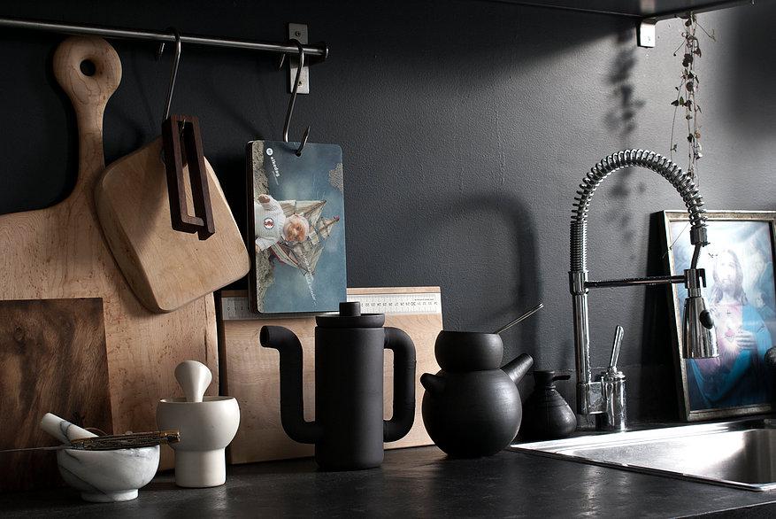 la r novation d un loft par stephan bidoux une hirondelle dans les tiroirs. Black Bedroom Furniture Sets. Home Design Ideas