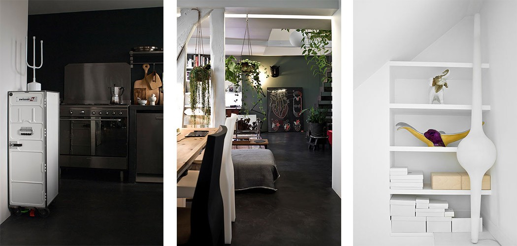 la r novation d 39 un loft par stephan bidoux une hirondelle dans les tiroirs. Black Bedroom Furniture Sets. Home Design Ideas