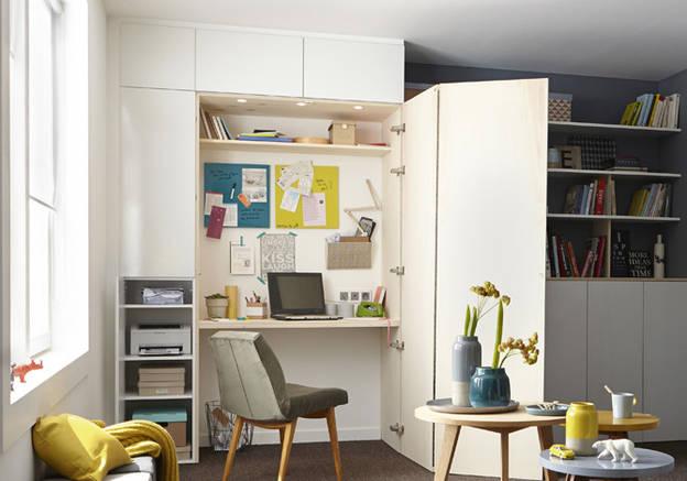 Extrêmement aménager un coin bureau dans le salon : 29 idées à piquer ! | Une  LL64