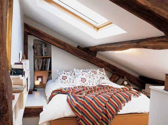 aménager chambre combles (15) | Une hirondelle dans les tiroirs