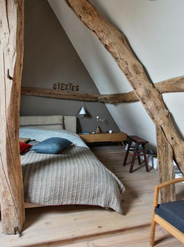 chambre dans les combles with chambre dans les combles amazing chambre sous combles avec. Black Bedroom Furniture Sets. Home Design Ideas