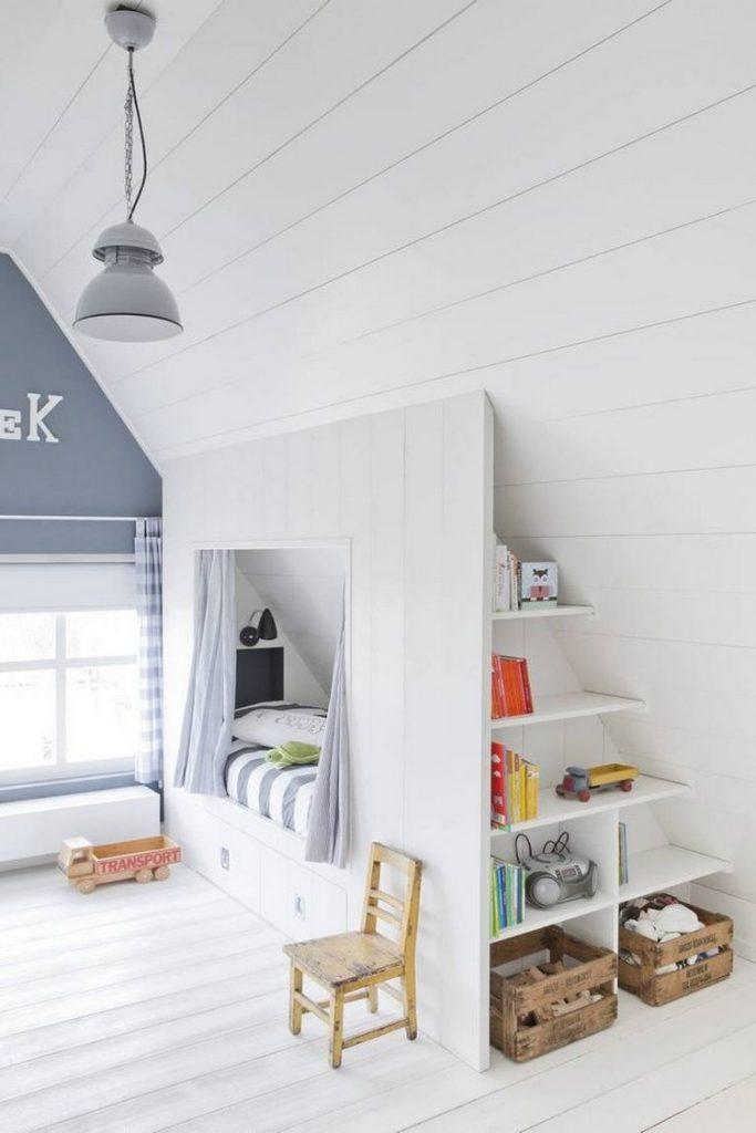 aménager une chambre sous les combles : 35 idées pour vous inspirer ...