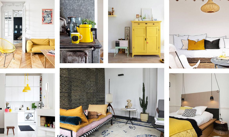 35 id es pour mettre du jaune dans votre d co une hirondelle dans les tiroirs. Black Bedroom Furniture Sets. Home Design Ideas