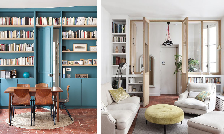 un appartement r nov avec tomettes et verri re bois une hirondelle dans les tiroirs. Black Bedroom Furniture Sets. Home Design Ideas
